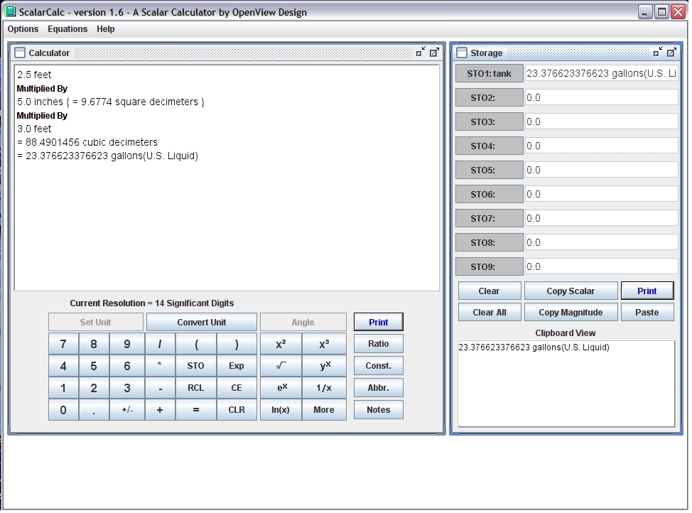 Click to view ScalarCalc screenshots